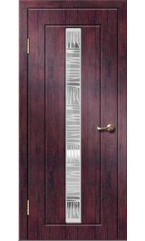 Челси ДО (тик) ПВХ Премиум межкомнатная дверь