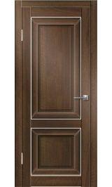 ДГ ПФ 1 (орех тиснённый, филадельфия) межкомнатная дверь