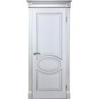 Элен ДГ (белый ясень/филадельфия) двусторонняя ПВХ Серия Шервуд межкомнатная дверь (Витрина)