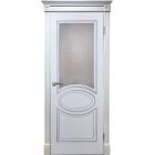 Элен ДО (белый ясень) ПВХ Серия Шервуд межкомнатная дверь (Витрина)