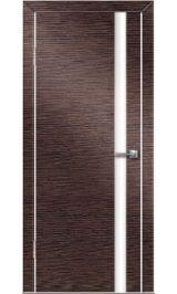 До-514 венге/бел стекло межкомнатная дверь (Остатки)