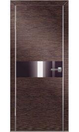 До-501 венге/черн стекло межкомнатная дверь