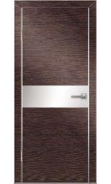 До-501 венге/бел стекло межкомнатная дверь