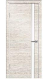 До-514 бел дуб/бел стекло межкомнатная дверь (Остатки)