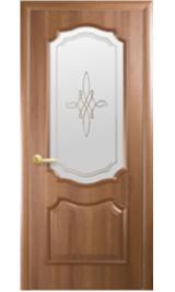 Рокка ДО (орех) ПВХ Серия Европа межкомнатная дверь (Распродажа)