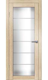 Интери ДО (лиственница) матовое стекло межкомнатная дверь