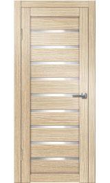 Грация-2 ДО (лиственница) белое стекло межкомнатная дверь