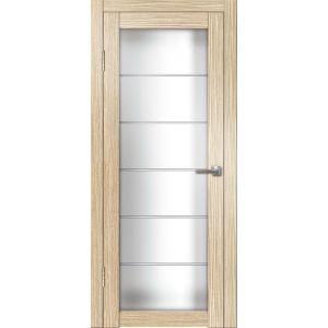Интери ДО (лиственница) матовое стекло межкомнатная дверь распродажа 800 мм витрина