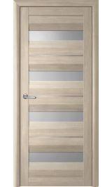 ДО Виктория 4 стекла + молдинг (лиственница) межкомнатная дверь