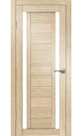 Виктория-2 ДО (лиственница) матовое стекло межкомнатная дверь