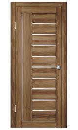 Палермо-7 ДО (барон темный) матовое стекло межкомнатная дверь