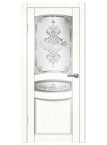 Гармония ДО (сандал белый) межкомнатная дверь