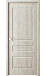 Лео беленый дуб глухая межкомнатная дверь