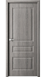 Лео дуб филадельфия грей глухая межкомнатная дверь