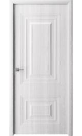 Элитекс 1 белый ясень глухая межкомнатная дверь