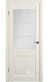 GL Light C6 (Дуб латте) стекло матовое межкомнатная дверь