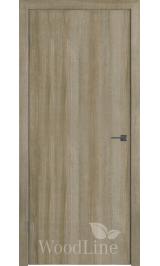 GL Light ДПГ (Дуб мокко) межкомнатная дверь