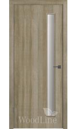 GL Light C1 (Дуб мокко) стекло матовое межкомнатная дверь