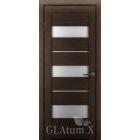 GLAtum X23 Greenline  (венге) межкомнатная дверь