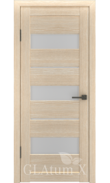 GLAtum X23 Greenline (капучино) межкомнатная дверь