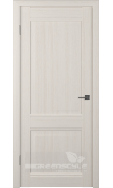 Greenline GLAtum С5 (беленый дуб) глухая межкомнатная дверь
