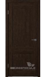 Greenline GLAtum С5 (венге) глухая межкомнатная дверь