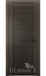 GLAtum X6 Greenline  (дуб серый) межкомнатная дверь