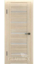 GLAtum X7 Greenline (капучино) межкомнатная дверь