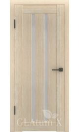 GLAtum X2 Greenline  (капучино) межкомнатная дверь