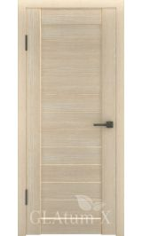 GLAtum X6 Greenline  (капучино) межкомнатная дверь