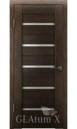 GLAtum X7 Greenline (венге) межкомнатная дверь