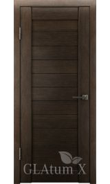 GLAtum X6 Greenline  (венге) межкомнатная дверь