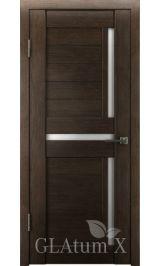 GLAtum X16 Greenline  (венге) межкомнатная дверь