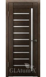 GLAtum X11 Greenline  (венге) межкомнатная дверь