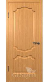GLSigma-91 ДГ (миланский орех) межкомнатная дверь