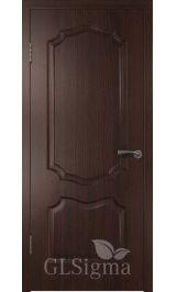 GLSigma-91 ДГ (венге) межкомнатная дверь