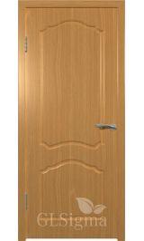 GLSigma-31 ДГ (миланский орех) межкомнатная дверь