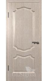 GLSigma-91 ДГ (беленый дуб) межкомнатная дверь