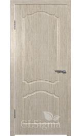 GLSigma-31 ДГ (дуб.бел) межкомнатная дверь
