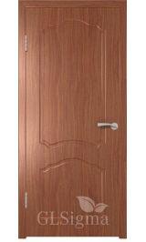 GLSigma-31 ДГ (итальянский орех) межкомнатная дверь
