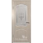 GLSigma-32 ДО худ.матирование (бел.дуб) межкомнатная дверь