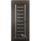 GLAtum X13 (дуб серый) межкомнатная дверь