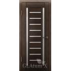GLAtum X13 (венге) межкомнатная дверь