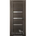 GLAtum X31 (дуб серый) межкомнатная дверь