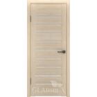 Greenline GLAtum X3 (капучино) стекло белый сатинат межкомнатная дверь