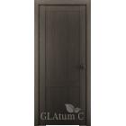 Greenline GLAtum С1 (дуб серый) межкомнатная дверь