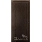 Greenline GLAtum С1 (венге) межкомнатная дверь