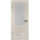 Greenline GLAtum С2 (беленый дуб) межкомнатная дверь