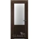 Greenline GLAtum С2 (венге) межкомнатная дверь