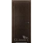 Greenline GLAtum С3 (венге) межкомнатная дверь